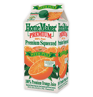 HomeMaker Premium Pulp Orange Juice