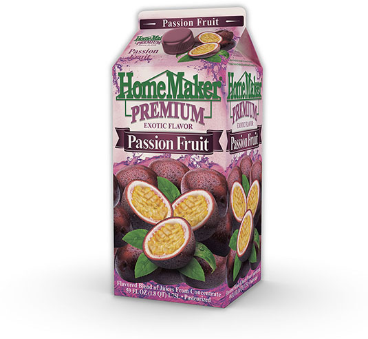 HomeMaker Premium Passion Fruit Real Fruit Juice